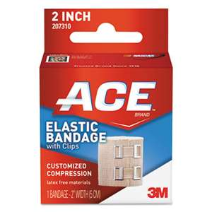 "3M/COMMERCIAL TAPE DIV. Elastic Bandage with E-Z Clips, 2"" x 50"""
