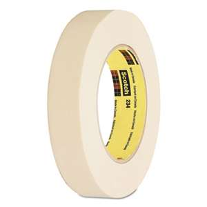 "3M/COMMERCIAL TAPE DIV. General Purpose Masking Tape 234, 12mm x 55m, 3"" Core, Tan"