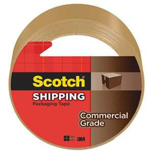 "3M/COMMERCIAL TAPE DIV. 3750 Commercial Grade Packaging Tape, 1.88"" x 54.6yds, 3"" Core, Tan"