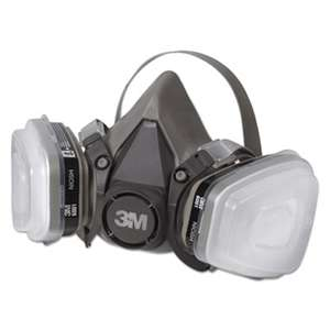 3M/COMMERCIAL TAPE DIV. Half Facepiece Paint Spray/Pesticide Respirator, Small