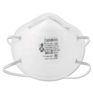 3M/COMMERCIAL TAPE DIV. N95 Particle Respirator 8200 Mask, 20/Box