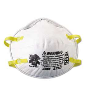 3M/COMMERCIAL TAPE DIV. Lightweight Particulate Respirator 8210, N95, 20/Box