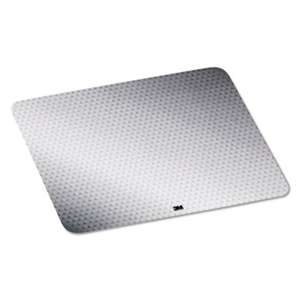 3M/COMMERCIAL TAPE DIV. Precise Mouse Pad, Nonskid Repositionable Adhesive Back, Gray Frostbyte