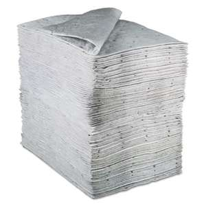 3M/COMMERCIAL TAPE DIV. Sorbent Pads, High-Capacity, Maintenance,0.375gal Capacity, 100/Carton