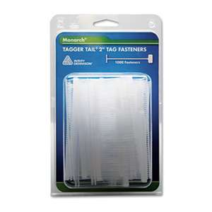"MONARCH MARKING Tagger Tail Fasteners, Polypropylene, 2"" Long, 1,000/Pack"