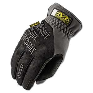 MECHANIX WEAR FastFit Work Gloves, Black/Gray, Large