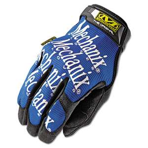 MECHANIX WEAR The Original Work Gloves, Blue/Black, Large