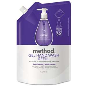 METHOD PRODUCTS INC. Gel Hand Wash Refill, French Lavender, 34 oz Pouch