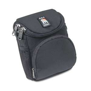 NORAZZA, INC. Camcorder/Digital Camera Case, Ballistic Nylon, 5 x 2 x 4 1/2, Black