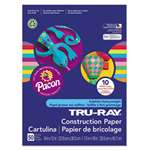 PACON CORPORATION Tru-Ray Construction Paper, 76 lbs., 9 x 12, Assorted, 50 Sheets/Pack