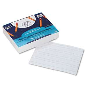 PACON CORPORATION Multi-Program Handwriting Paper, 16 lbs., 8 x 10-1/2, White, 500 Sheets/Pack