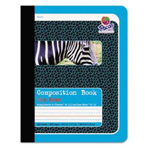 PACON CORPORATION Composition Book, 1/2 Ruling, 9 3/4 x 7 1/2, 100 Sheets