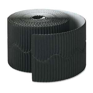 "PACON CORPORATION Bordette Decorative Border, 2 1/4"" x 50' Roll, Black"