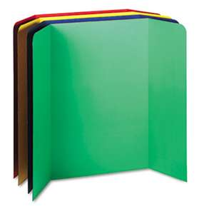 PACON CORPORATION Spotlight Corrugated Presentation Display Boards, 48 x 36, Assorted, 4/Carton