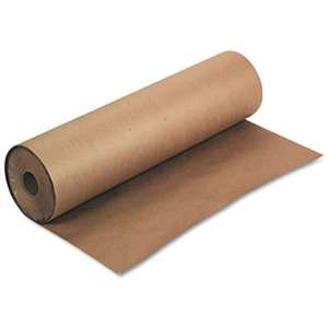 "PACON CORPORATION Kraft Paper Roll, 50 lbs., 36"" x 1000 ft, Natural"