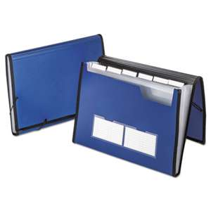 ESSELTE PENDAFLEX CORP. Professional Expanding Document Organizer, Letter, 7 Pockets, Blue
