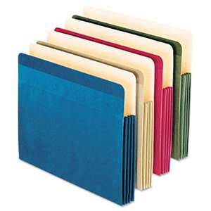 ESSELTE PENDAFLEX CORP. Recycled Paper Color File Pocket, Letter, 4 colors, 4/Pack
