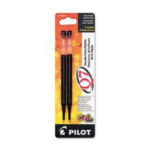 PILOT CORP. OF AMERICA Refill for Retractable Gel Roller Ball Pen, Fine, Black Ink