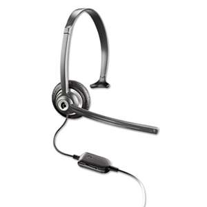 PLANTRONICS, INC. M214C Over-the-Head Mobile/Cordless Phone Headset w/Noise Canceling Mic