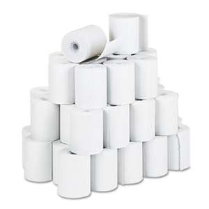 "PM COMPANY Receipt Rolls, 3 1/4"" x 150 ft, White, 50/Carton"