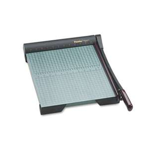 "PREMIER MARTIN YALE The Original Green Paper Trimmer, 20 Sheets, Wood Base, 13"" x 17 1/2"""