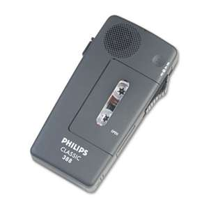 PHILIPS SPEECH PROCESSING Pocket Memo 388 Slide Switch Mini Cassette Dictation Recorder