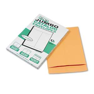 QUALITY PARK PRODUCTS Jumbo Size Kraft Envelope, 14 x 18, Brown Kraft, 25/Pack