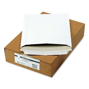 QUALITY PARK PRODUCTS Photo/Document Mailer, Redi-Strip, Side Seam, 9 x 11 1/2, White, 25/Box