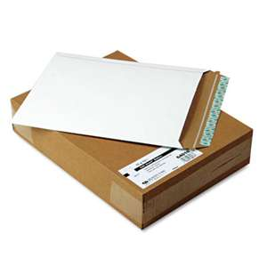 QUALITY PARK PRODUCTS Photo/Document Mailer, Redi-Strip, Side Seam, 11 x 13 1/2, White, 25/Box