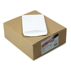 QUALITY PARK PRODUCTS DuPont Tyvek Air Bubble Mailer, Self-Seal, Side Seam, 6 1/2 x 9 1/2, White
