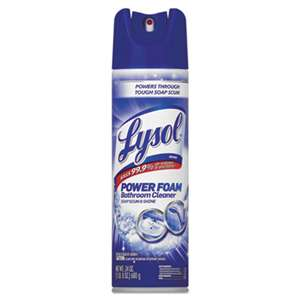 RECKITT BENCKISER Power Foam Bathroom Cleaner, 24oz Aerosol