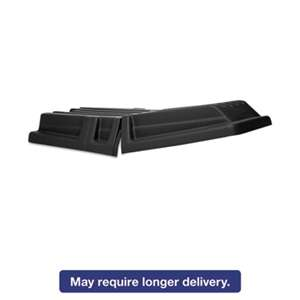 RUBBERMAID COMMERCIAL PROD. Hinged Tilt Truck Lid, Rectangular, 28 1/2 x 56 1/2 x 9, Black