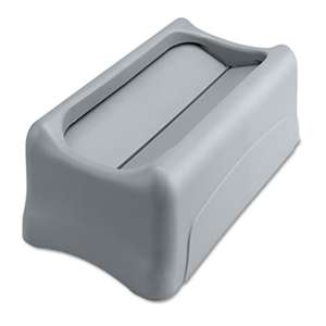Rubbermaid Commercial 267360GY Swing Lid for Slim Jim Waste Container, Gray
