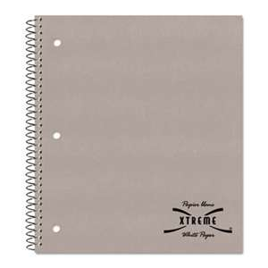 REDIFORM OFFICE PRODUCTS Subject Wirebound Notebook, College/Margin Rule, 11 x 8 7/8, White, 80 Sheets