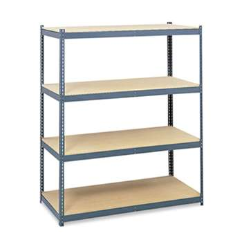Safco 5260 Steel Pack Archival Shelving, 69w x 33d x 84h, Gray