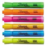 SANFORD Accent Tank Style Highlighter, Chisel Tip, Assorted Colors, 6/Set
