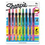 SANFORD Accent Retractable Highlighters, Chisel Tip, Assorted Colors, 8/Set