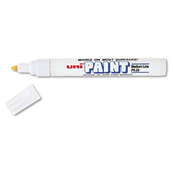 SANFORD uni-Paint Marker, Medium Point, White