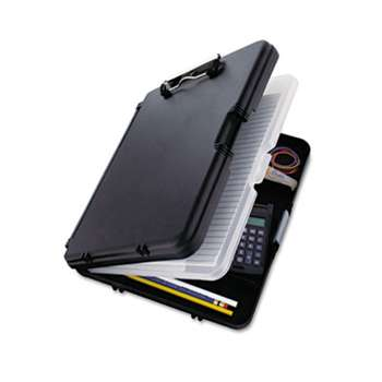 "SAUNDERS MFG. CO., INC. WorkMate II Storage Clipboard, 1/2"" Capacity, Holds 8-1/2w x 12h, Black/Charcoal"