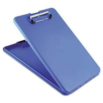 "SAUNDERS MFG. CO., INC. SlimMate Storage Clipboard, 1/2"" Clip Cap, 8 1/2 x 11 Sheets, Blue"