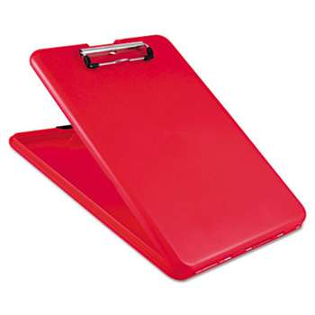 "SAUNDERS MFG. CO., INC. SlimMate Storage Clipboard, 1/2"" Clip Cap, 8 1/2 x 11 Sheets, Red"