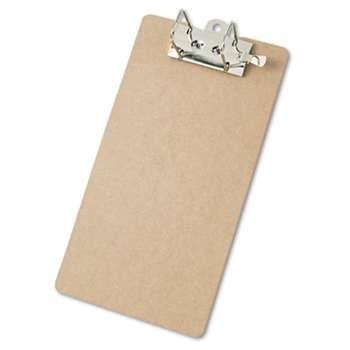 "SAUNDERS MFG. CO., INC. Arch Clipboard, 2"" Capacity, Holds 8 1/2""w x 14""h, Brown"