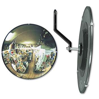 "SEE ALL INDUSTRIES, INC. 160 degree Convex Security Mirror, 12"" dia."