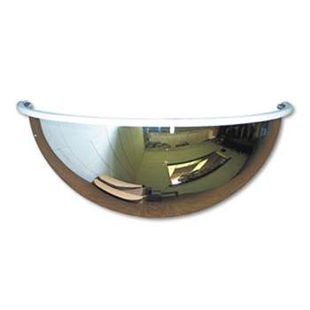 "SEE ALL INDUSTRIES, INC. Half-Dome Convex Security Mirror, 18"" dia."