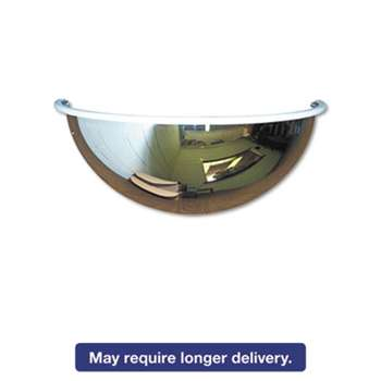 "SEE ALL INDUSTRIES, INC. Half-Dome Convex Security Mirror, 26"" dia."