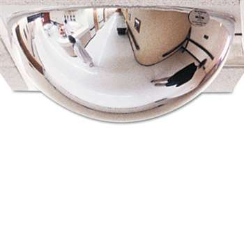 "SEE ALL INDUSTRIES, INC. T-Bar Dome Security Mirror, 24"" dia."