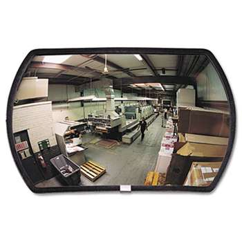 "SEE ALL INDUSTRIES, INC. 160 degree Convex Security Mirror, 24w x 15"" h"
