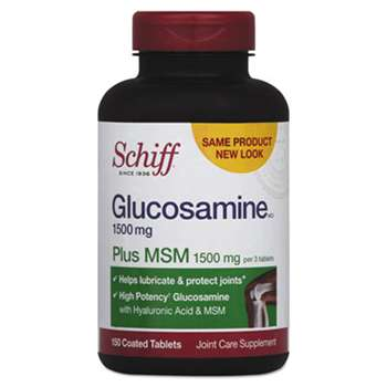 RECKITT BENCKISER Glucosamine Plus MSM Tablet, 150 Count