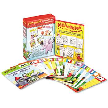 SCHOLASTIC INC. Alpha Tales Learning Library Set, Grades K-1, Softcover, 16 Pages