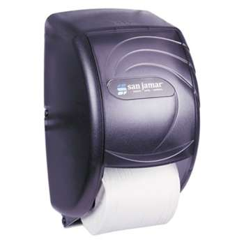 THE COLMAN GROUP, INC Duett Standard Bath Tissue Dispenser, Oceans, 7 1/2 x 7 x 12 3/4, Black Pearl